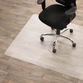 Vloermat voor harde vloer 90 x 120 cm.